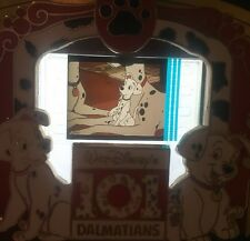 Disney Pin 101 Dalmatians Dogs Cel Piece Of Movie History Movies PODM Rare Le