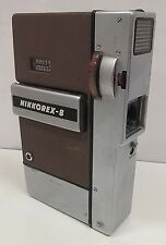 Nippon Kogaku Nikkorex-8 Movie Camera Remote Trigger No. 37334 USED TESTED  I5