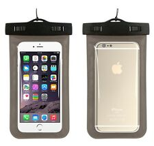 Under Water Proof Dry Pouch Bag Case Cover Protector Holder For Cell Phone UK