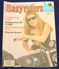 EasyRiders Magazine March 1986 #153, David Mann Centerfold, Near Mint Condition