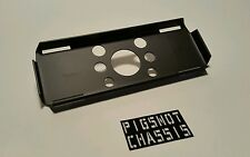 New Pigsnot Chassis Scx10 Forward mount battery tray Plate SATIN black axial