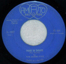 """GARAGE MERSEYBEAT on AMATO Marrs Five - Ouie Di Douie b/w Remember Those Days 7"""""""