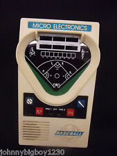 1970's Vintage Classic Handheld Baseball Game Micro Electronics, Tested, Works