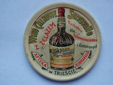 SERRAVALLO TRIESTE vino wine vecchio specchietto farmacia mirror