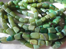 """15 1/2"""" Strand 6-12mm Long Yellow Turquoise Bone Shaped Stone Beads A359 DNG"""