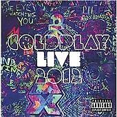 Coldplay - Live 2012 (Parental Advisory/Live Recording/CD+DVD, 2012)
