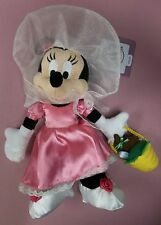 "Disney Parks 2015 9"" Minnie Mouse Easter Parade with Easter Egg Basket Plush"