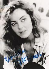 Greta Scacchi Autogramm 16x22 cm Bild s/w