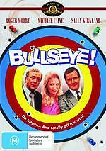 BULLSEYE - MICHAEL CAINE ROGER MOORE COMEDY NEW DVD MOVIE SEALED