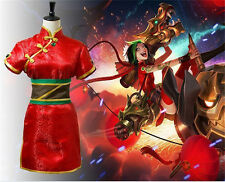 NEW PRECO League of legends FireCracker Jinx costume cosplay clothing #557
