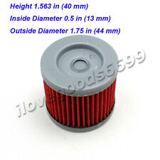 5x Oil Fuel Cleaner Filter For K157FMI Sinnis 125cc QM125GY Apache 125