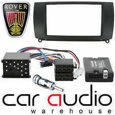 Rover 75 Double Din Car Stereo Fascia Panel & SONY Steering Wheel Interface Kit