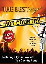 THE BEST OF HOT COUNTRY 4 CD - IRISH COUNTRY NEW RELEASE 2015