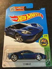 2016 Hot Wheels '17 Ford GT Super CUSTOM with Real Riders