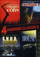 4 Horror Classics: Children of the Corn/Creepshow 2/C.H.U.D (2012, DVD NIEUW) WS