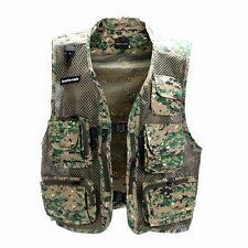 Men Outdoor Travel Vest Jacket Fishing Photography Field Multi Pockets-2XL