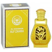 ALF Zahra Perfume Al Haramain Alcohol Free Natural Arab Oil Attar 15ml