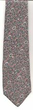 Tie MH, Vintage Narrow JONATHAN WHITE All-Over MAUVE PAISLEY Blue White Gray