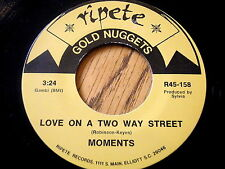 MOMENTS - LOVE ON A TWO WAY STREET / McCOYS - COME ON LET'S GO