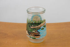 1995 Welch's Jelly / Jam Glass - WWF Endangered Species - American Alligator #11