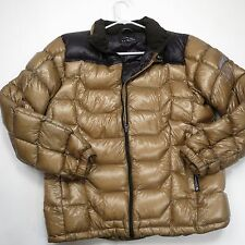 $250+ L.L. Bean Men's 800 Fill  Down Pertex Quantum Jacket Gold/Black Small NEW