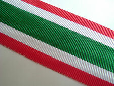 RIBBON-GOOD QUALITY FOR THE ITALIAN UNITED ITALY MEDAL