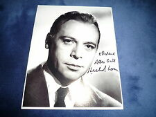 HERBERT LOM signed Autogramm 20x25 cm In Person DER ROSAROTE PANTHER (+2012)