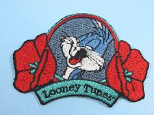 Looney Tunes Embroidered Iron On Patches Bugs Bunny 'Looney Tunes' Patch NEW