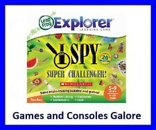 NEW Leapster Explorer, LeapPad Game Scholastic I Spy Super Challenger LeapsterGS