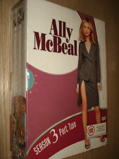 BOX COFANETTO 3 DVD ALLY McBEAL SEASON STAGIONE 3 PART TWO 2