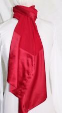 NWT NEW STYLE & CO. ROCKET RED RIBBON SHEER SCARF Wrap MSRP $24.98 Lot A