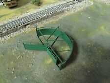 1/64 Custom Scratch-Cast Cattle Corral Sweep Tub - Green