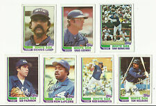 VINTAGE 1982 TOPPS BASEBALL CARDS – CHICAGO WHITE SOX – MLB