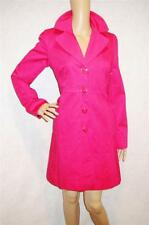 MARKS & SPENCER ~ DESIGNER Gorgeous BRIGHT PINK Button Front COAT ~ SZ ~ NEW