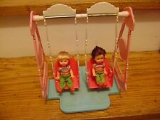 Barbie Swing With Dolls