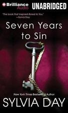 Seven Years to Sin- Georgian Series by Sylvia Day Format:  Paperback