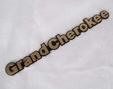 JEEP GRAND CHEROKEE GOLD EMBLEM 94-96 FRONT FENDER OEM BADGE sign symbol logo