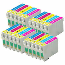 20 Cartucce Inchiostro a Colori per Epson Stylus Photo PX650 PX800FW R285
