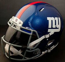 NEW YORK GIANTS NFL Authentic GAMEDAY Football Helmet w/ OAKLEY Eye Shield