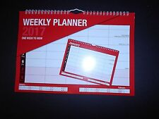 2017 WEEKLY PLANNER / STAFF ROTA . A4 SIZE one week to view design_3812