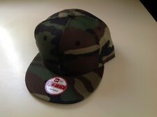 6 NEW ERA, CAMO, Pro Brand 9Fifty 950 BLANK Flat Bill Snapback Hat Cap