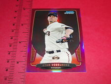 2013 Bowman Chrome RYAN VOGELSONG #69 Magenta Refractor/35 GIANTS - PIRATES
