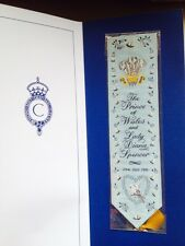 Cashs Woven Silk Comemorating The Marriage Of Prince Of Wales And Lady Diana