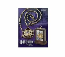 Time Turner Necklace Hermione Granger Rotating Spins Gold Hourglass Harry Potter