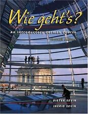 Wie geht's?: An Introductory German Course (with Audio CD), Sevin, Ingrid, Sevin