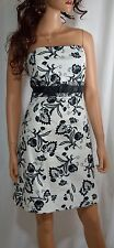 NWT WHITE HOUSE BLACK MARKET Paisley Damask Fit & Flare Sleeveless Dress  Size 6