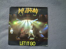 """DEF LEPPARD-LET IT GO""7"" SINGLE.EX COND.CAT;LEPP2."