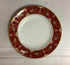 """ROYAL CROWN DERBY """"CLOISONNE"""" ACCENT SALAD PLATE 8 1/2""""  BONE CHINA ENGLAND NEW"""