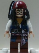 x1 NEW Lego Captain Jack Sparrow CANNIBAL Minifig Pirates of the Caribbean 4182