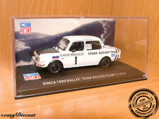 SIMCA 1100 RALLYE STARS RACING TEAM 1:43 1974 MINT!!!